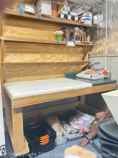 Rolling Table/Storage Unit
