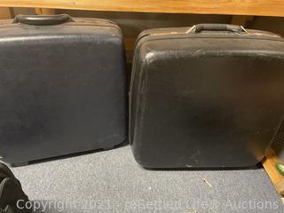 Pair of Samsonite Hard Case Luggage