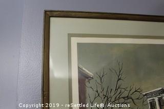 Framed Robert Fabe Prints