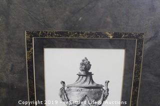 Grecian Urn Prints and Lamp