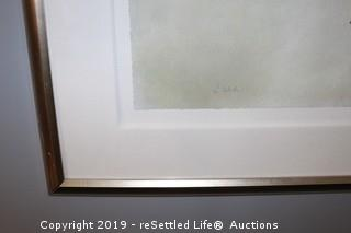 Oversize Abstract C Webb Print