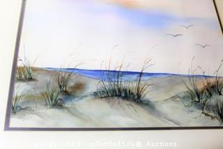 Vida Seaside Print