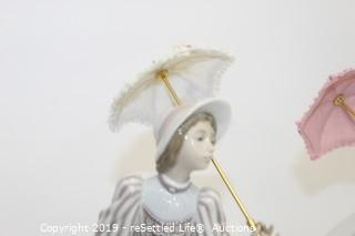 LLadro #7636 Afternoon Promenade and #5324 English Lady