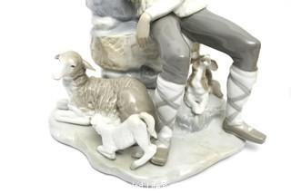 Lladro NAO #4571 Shepherd Resting