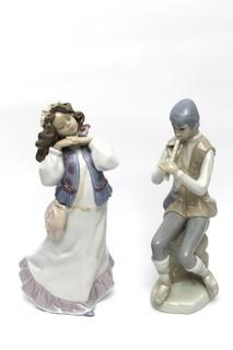 Lladro #6401 Dreams of Summer Past and Cascades by Napco