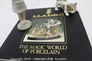 Lladro  #5901 Playful Kitten and  #8313 You Deserve the Best