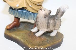 Anri Sculpted Wood Figurine Limited Edition