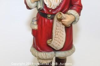 Anri Carved Wood Santa Limited Edition