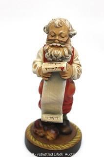 Anri Sculpted Wood Figurine Limited Edition Santas
