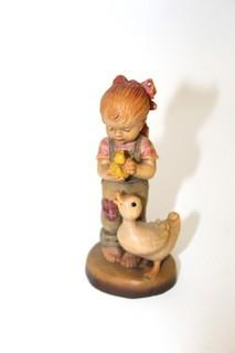 Anri Sculpted Wood Figurines Limited Edition (3)