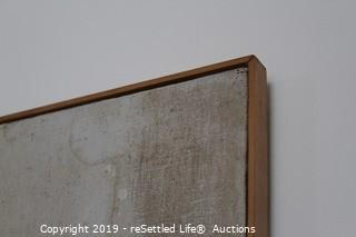 Buggiani Artwork in Wood Frame
