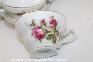 Haviland Normandy and Tea Set