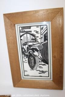 Framed Jeff Stitter Limited Edition