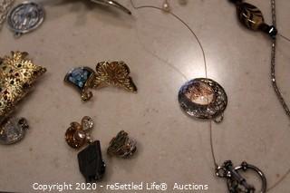 Variety of Costume Jewelry