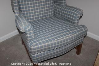 Key City Wing Back Chair