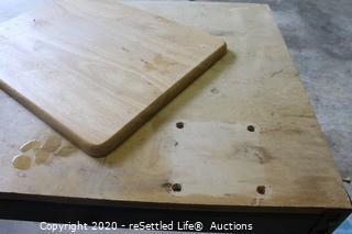 Wood and Metal Work Table