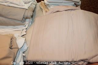 A Variety of Sheet Sets and Sunbeam Heating Blanket