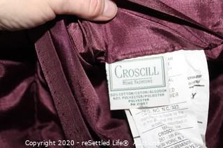 Crosscill King Bedding Set