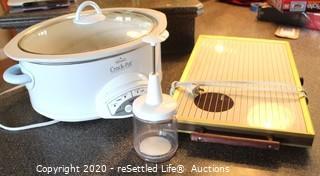 Chopper, Crock-Pot, Hot Plate