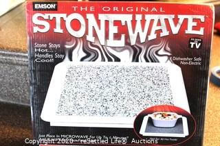 Granite Hot Plate, Stonewave Microwave Warming Plate