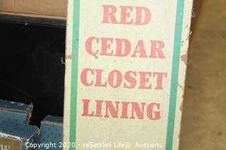 Curtain Rods, Curtains and Closet Lining