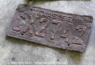 Vintage License Plates (14)