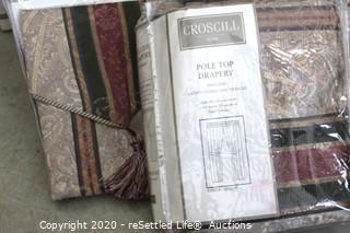 Croscill Dover Manor Curtains