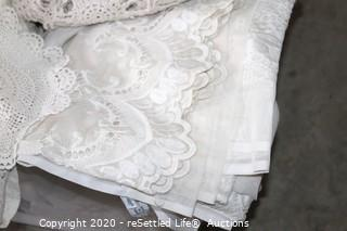 Lace Tablecloths, Curtains and More