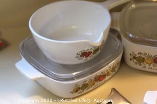 Vintage Corningware Collection