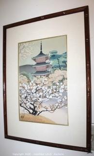 "Framed Art ""Ykiyo-e and the Japanese Wood Block Print"""