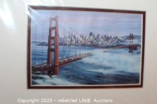Unframed Art Prints of San Francisco, Mini Framed Print, and Ceramic Geese Bowl