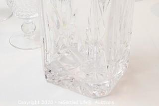 Waterford Champagne Glasses and Decanter