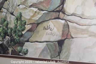 Signed and Numbered Artwork by Balk