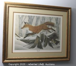 Signed and Numbered John Ruthven Artwork