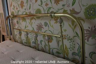 Queen Brass Headboard