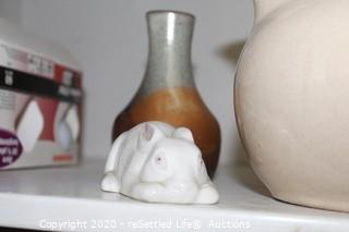 Bybee Pottery, Occupied Japan Figurines, Rabbit Collection & More