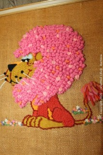 Needlepoint Wall Decor