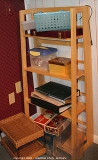 Shelf, Photo Albums, Games and More