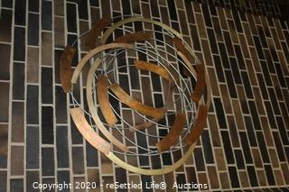 Johnston Metal Sculptured Wall Art