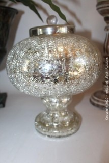 Glass Plate Decor, Candlesticks and More