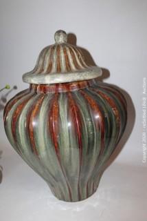 Lamp, Ginger Jar and Floral