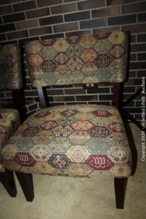 Pair of Decorative Side Chairs
