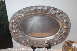 Arthur Court Trays (3) and Platter