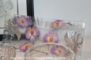 Framed Fish Art, Crystal, Platter, Bowl and More