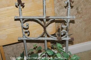 Picture Frames, Wood Tray and Wall Floral
