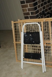 Step Stool and Gates (2)