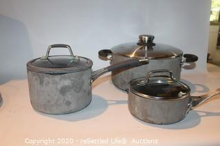 Calphalon and Circulon Pots and Pans