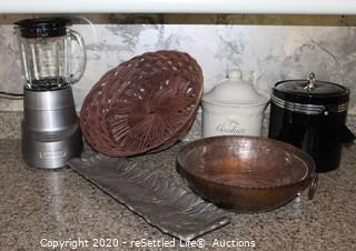 Cuisinart Mixer, Cookie Jar, Ice Bucket and More