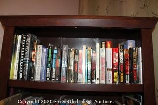 Book Shelf with Books