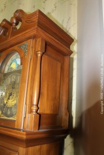 Emperor Clock Company Grandfather Clock